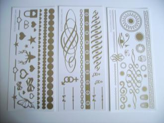 Egypt-Wonder ® GOLDFEVER TATTOOS 50 motívov 23.75 GOLD