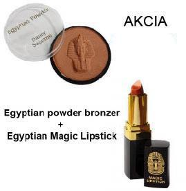 Egyptian powder bronzer - Egyptian Magic Lipstick